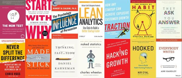 The Best Books to Succeed in Each Step of Marketing
